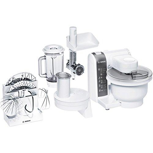 Bosch mum4855 Küchenmaschine, Kunststoff, 1 Liter, weiß