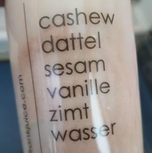 Saft 6 Saftkur suß mit Vanille und Zimt