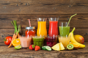 Gesunde Saftkur zur Entgiftung des Körpers